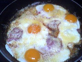 Recette Oeufs au bacon