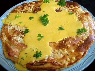 Gâteau de crêpes au sarrasin et aux fromages - 12.3