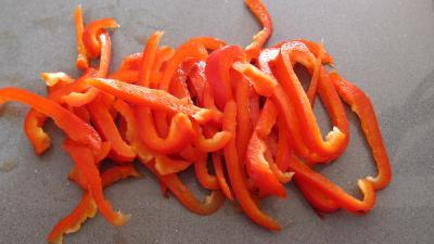 Tagliatelle au poivron et champignons - 1.3