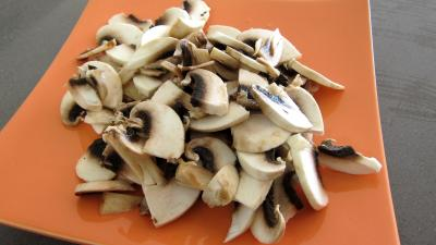 Tagliatelle au poivron et champignons - 2.4