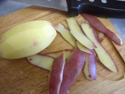 Pommes de terre et patates douces aux cèpes - 3.3