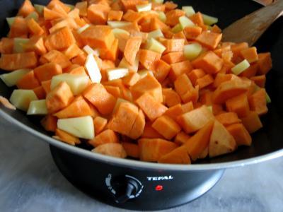 Pommes de terre et patates douces aux cèpes - 4.3