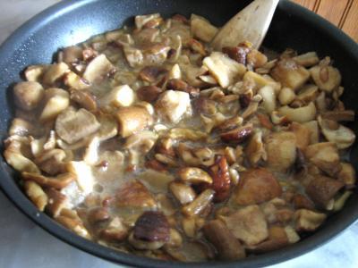 Pommes de terre et patates douces aux cèpes - 6.1