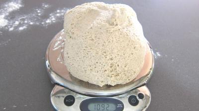 Pain tordu à la farine d'orge - 4.3