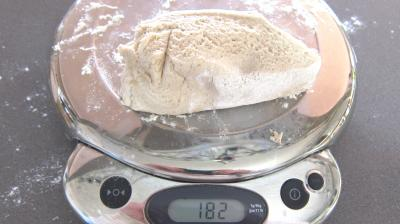 Pain tordu à la farine d'orge - 5.2