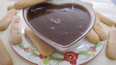 Recette Crème anglaise au chocolat