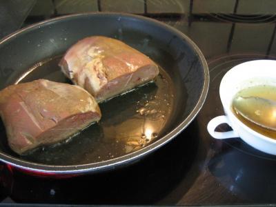 Magret et sa sauce à la chartreuse verte - 8.2