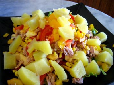 Salade de thon et poivrons - 12.1