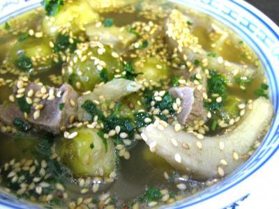 Recette Soupe de magret façon chinoise