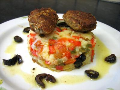 Recette Croquettes de sardines et purée de légumes