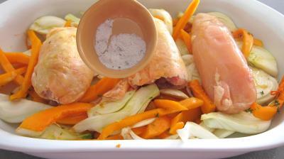 Poulet aux fenouils et butternut - 4.4