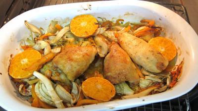 Poulet aux fenouils et butternut - 6.1