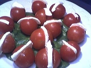 Tomates-cerises à la mozzarella - 3.4