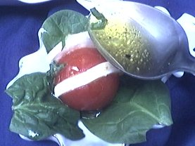 Tomates-cerises à la mozzarella - 5.3