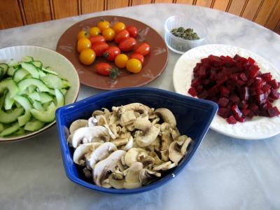 Salade de betterave rouge - 6.3