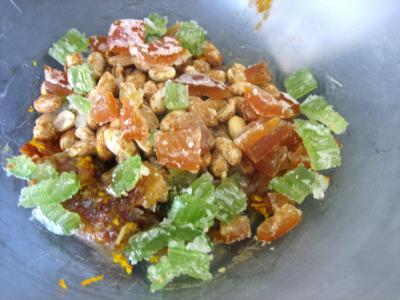 Gâteau de riz farci et sa salade de fruits - 4.3