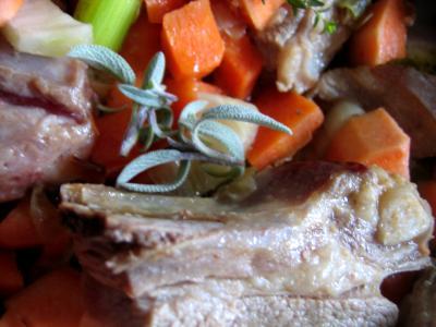 Poitrine de porc aux patates douces - 6.2