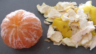 Millefeuille de pamplemousse au saumon fumé - 1.1