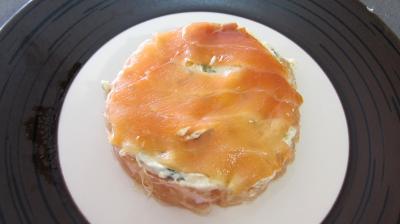 Millefeuille de pamplemousse au saumon fumé - 4.2