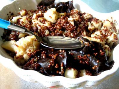 Image : Assiette de quinoa et chou-fleur