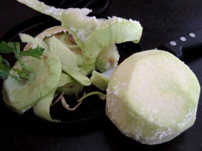 Sauté de chou-rave au maccheroni - 1.1