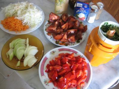 Sauté de chou-rave au maccheroni - 5.3