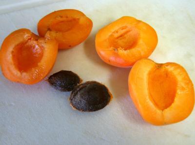 Meringues aux abricots et aux nectarines - 1.1
