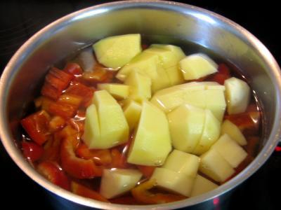 Purée de poivrons rouges - 3.3