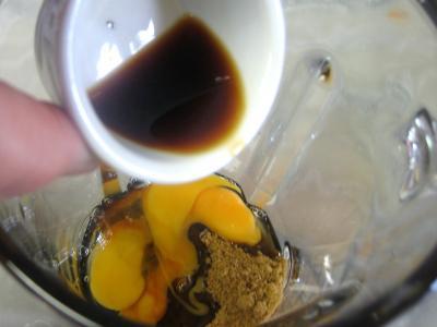 Flan aux raisins muscat - 3.4