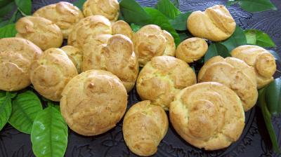 Recette Pâte à choux ou gougères au kenwood