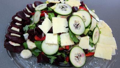 Salade de magret au Cantal - 5.1