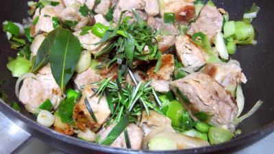 Rouelle de porc au vin blanc en tajine - 7.2