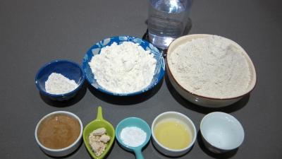 Ingrédients pour la recette : Pain de seigle