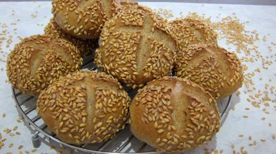 Levain sans gluten à la farine de sarrasin : Petits pains de seigle