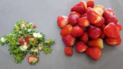 Verrines de fraises à la chantilly meringuée - 1.3
