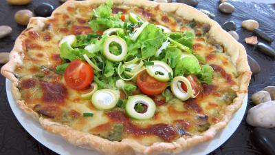 Image : recette Tarte croustillante aux légumes