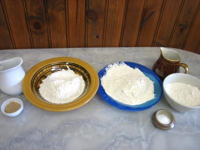 Ingrédients pour la recette : Pain marguerite