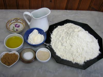 Ingrédients pour la recette : Pain pour enfants