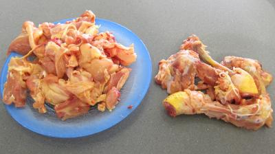 Mijoté de poulet aux abricots - 1.1