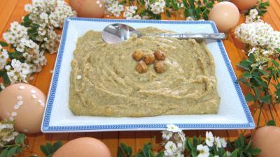 Image : recette Crème pâtissière aux noisettes