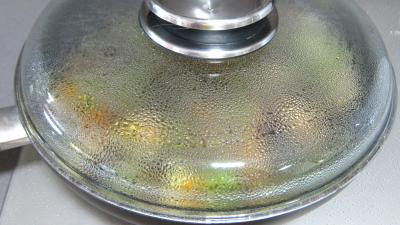 Concombre, poireaux et calamars à l'aigre-doux - 8.2