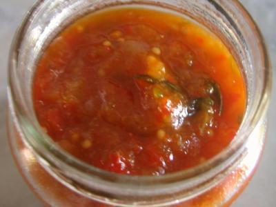 Chutney aux poivrons - 13.1