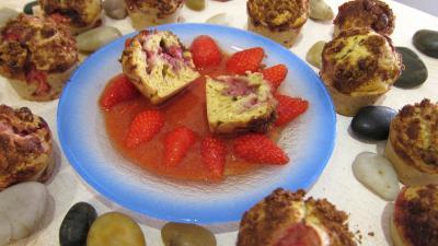Muffins aux fraises - 7.1