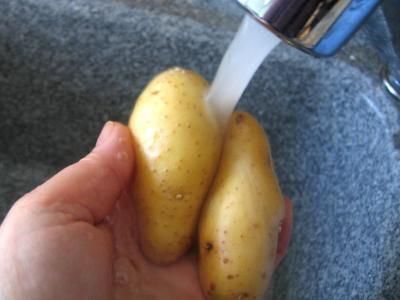 Pommes de terre farcies à la ricotta - 1.1
