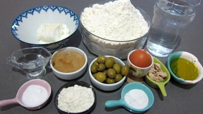 Ingrédients pour la recette : Pain brioché au chèvre