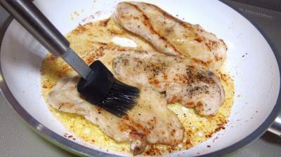 Escalopes de dinde sauce aux morilles - 9.2