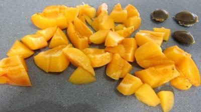 Crème abricots à la noix de coco - 1.1