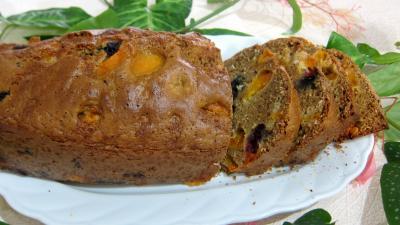 Cake aux abricots et aux myrtilles - 6.1