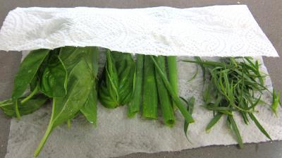 Haricots verts et courgettes gratinés aux fines herbes - 2.1