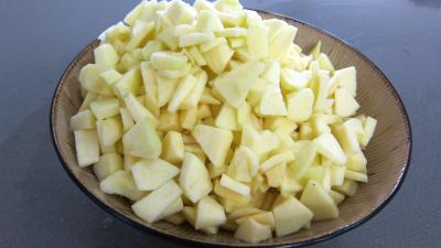 Chutney de mûres aux pommes - 2.1
